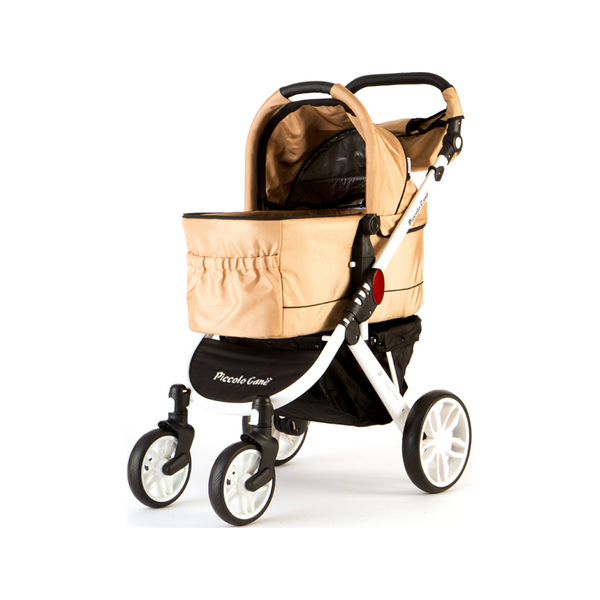Tanto II Pet Stroller Color : Champagne gold, Large