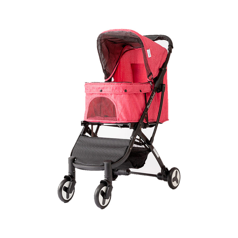 Bene II Pet Stroller Color : Red