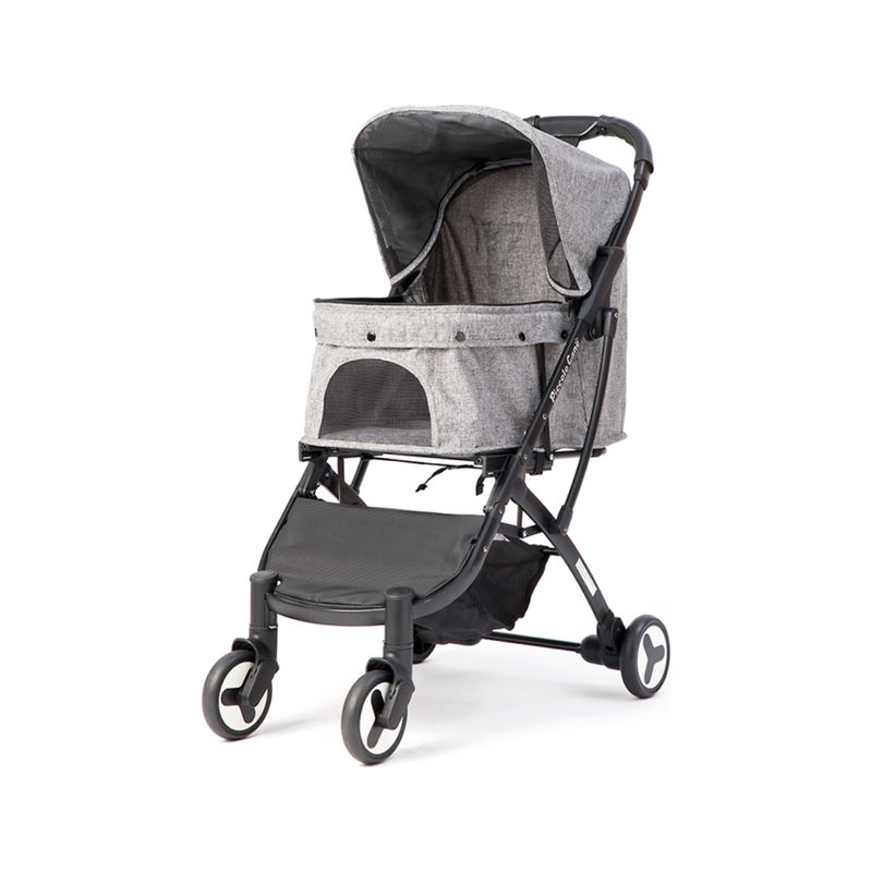 Bene II Pet Stroller Color : Grey