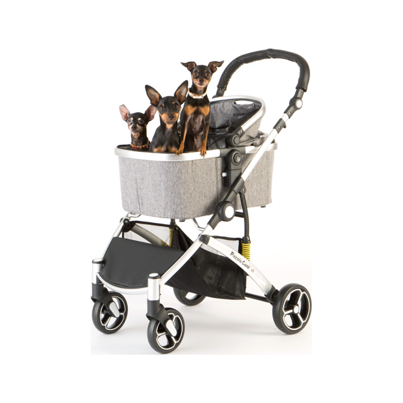 Carino II Pet Stroller Color : Grey