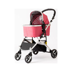 Carino II Pet Stroller Color : Red