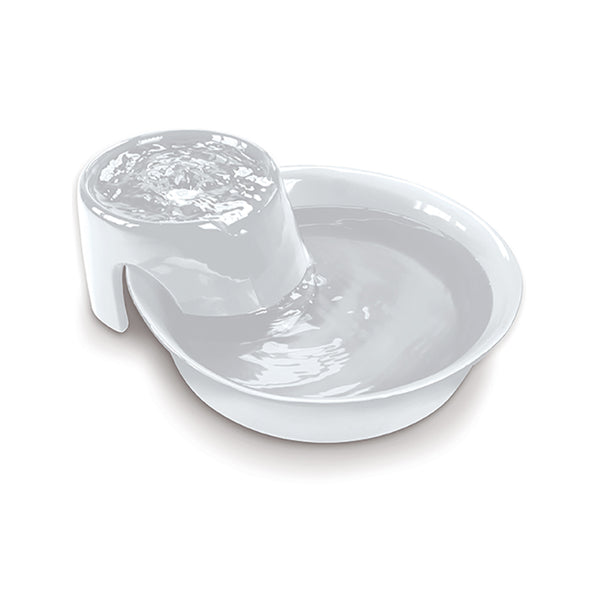 Ceramic Fountain Big Max Design, Color White, 128 oz