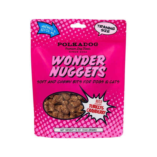 Wonder Nuggets Turkey & Cranberry Training Treats,12oz