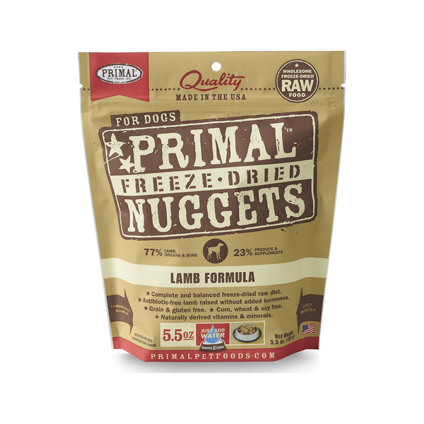 Freeze Dried Lamb Nuggets, 5.5oz