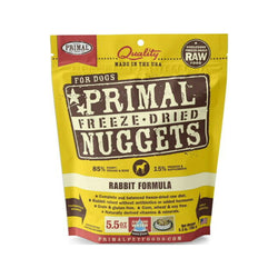Freeze Dried Rabbit Nuggets, 5.5oz