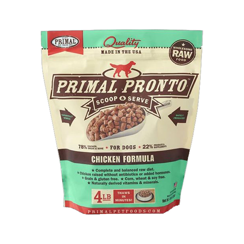 Canine Chicken Pronto, 4lb (Frozen)