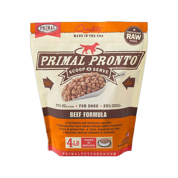 Canine Beef Pronto, 4lb