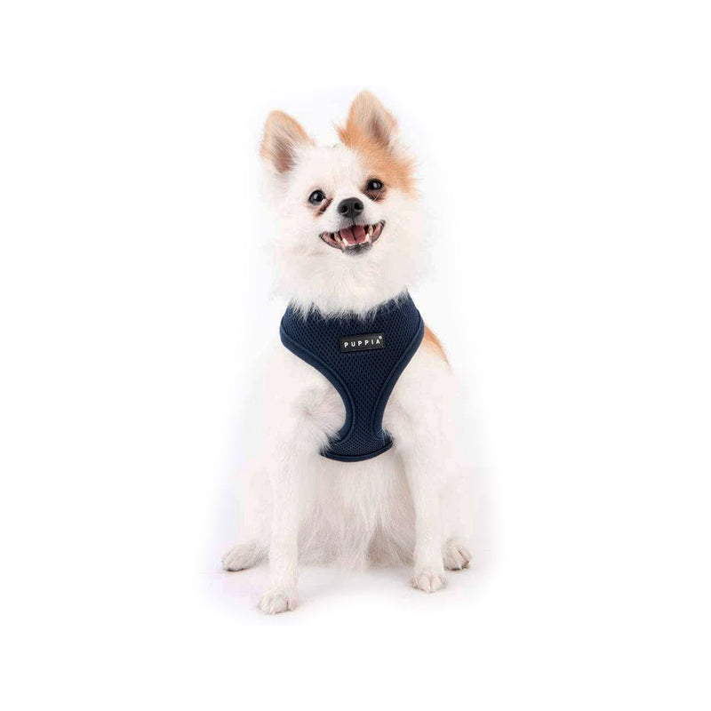 Puppia Soft Harness, Navy, M