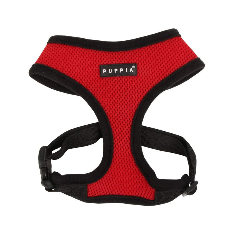 Puppia Soft Harness, Red, S