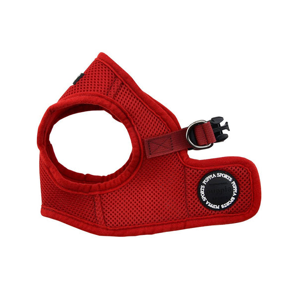 Puppia Soft Vest Harness, Wine, L