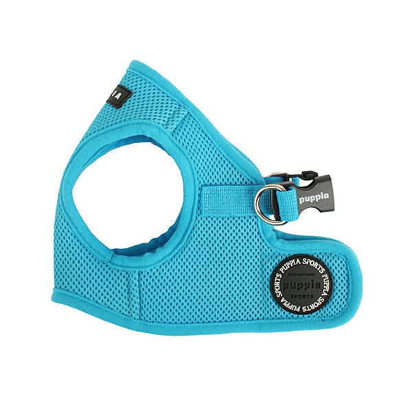 Puppia Soft Vest Harness, Sky Blue, L
