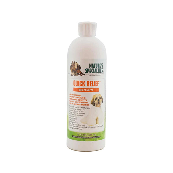 Quick Relief Neem Shampoo for Dogs & Cats, 16oz