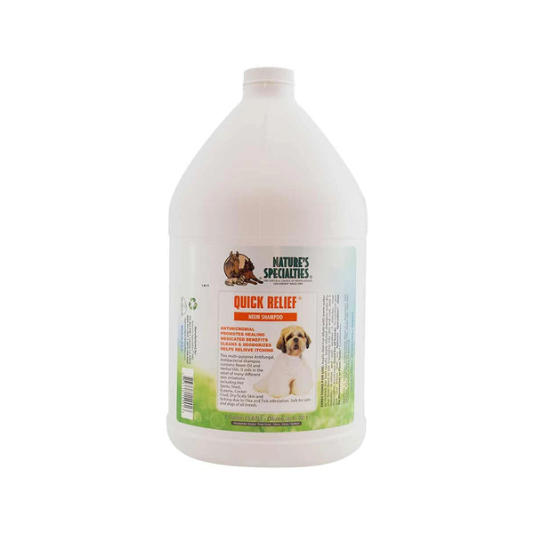 Quick Relief Neem Shampoo for Dogs & Cats, Gallon