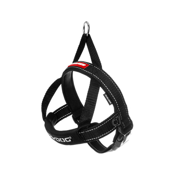 Quick Fit Harness Color : Black, Size : Large