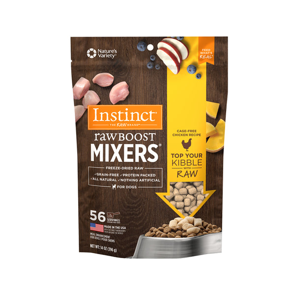 Raw Boost Freeze Dried Mixers For Dogs - Chicken, 6oz