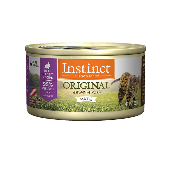 Feline Instinct Original G.F Rabbit Can, 3oz