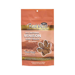 All Natural Jerky Treats - Venison, 4oz