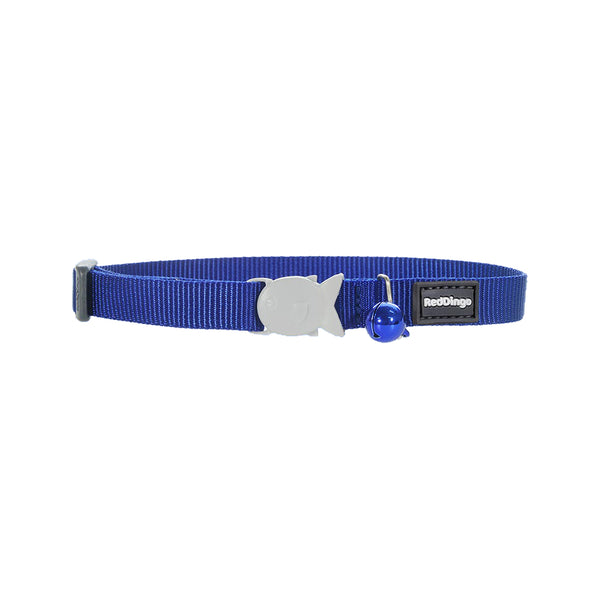 Safety Cat Collar, Color: Dark Blue