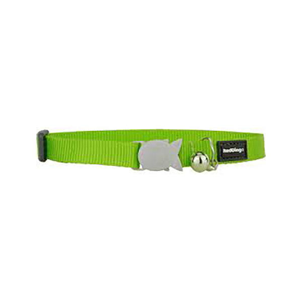 Safety Cat Collar, Color: Green