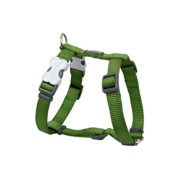 Classic Dog Harness, Green, 15mm