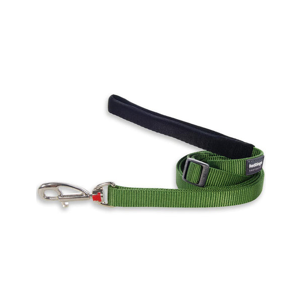 Classic Dog Leash, Green, 25mm