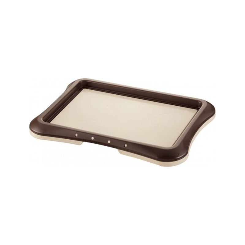 Richell Training Tray 48x35cm Color, Dark brown