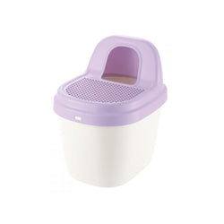 Tracking Free Litter Box, Color: Purple