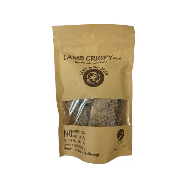 Lamb Lung Crispy Treats, 45g