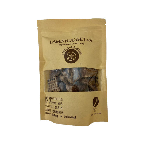Lamb Lung Nuggets Treats, 45g