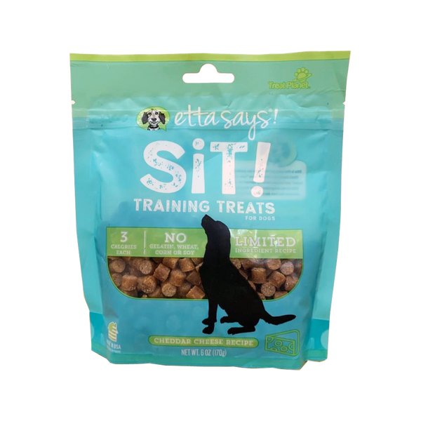 Sit! Training Treats Cheddar Cheese, 6oz