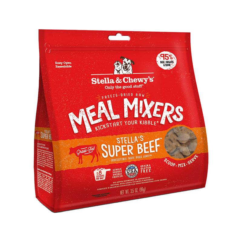 Freeze Dried Raw Meal Mixer Beef, 35oz
