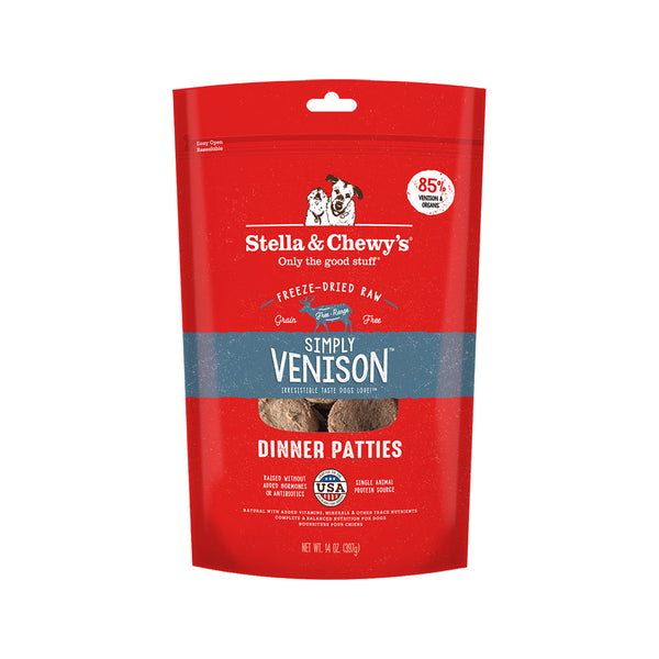 Freeze-Dried Dinners - Simply Venison, 14oz