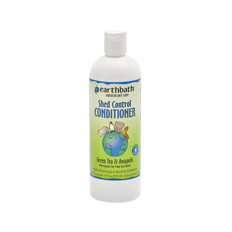 Conditioner - Green Tea & Awapuhi for Shed Control for Dogs & Cats, 16oz