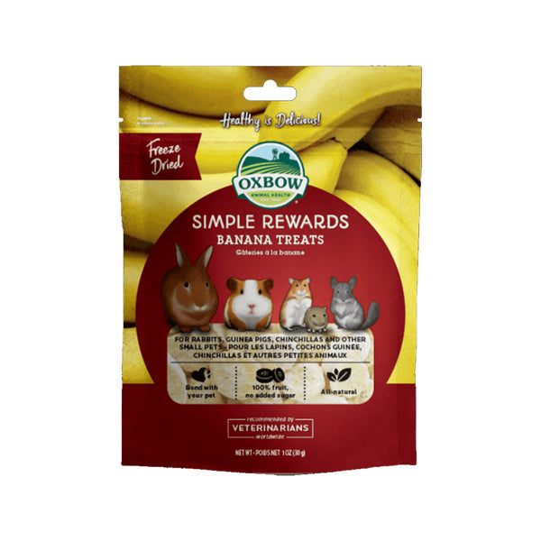 Simple Rewards Banana Treats, 1oz