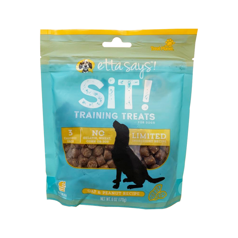 Sit! Training Treats Oat & Peanut, 6oz