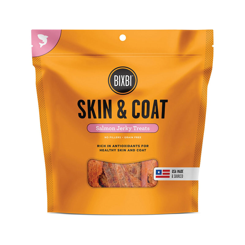 Skin and Coat - Salmon Jerky Treats, 4oz