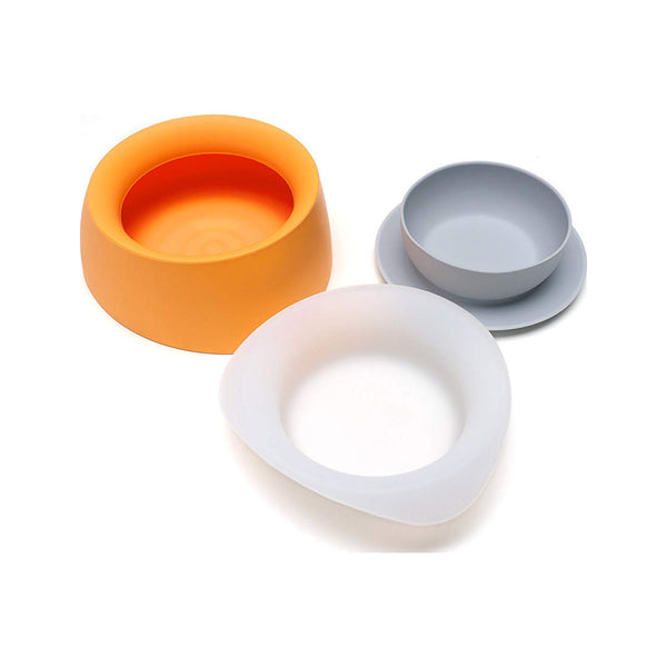 Yummy Travel Bowls, Color Mango Tango, Small