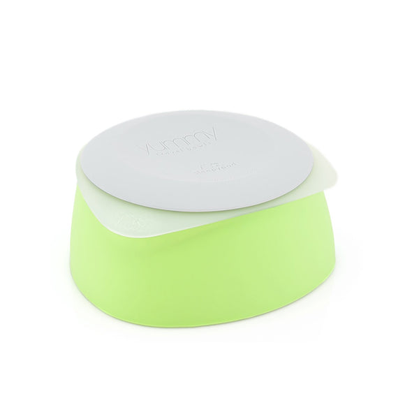 Yummy Travel Bowls, Color Key Lime, Small