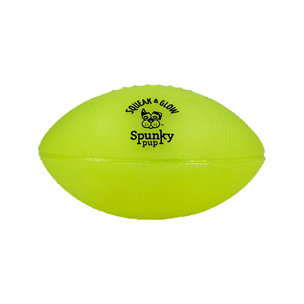 Squeak and Glow Football, Color: Assorted