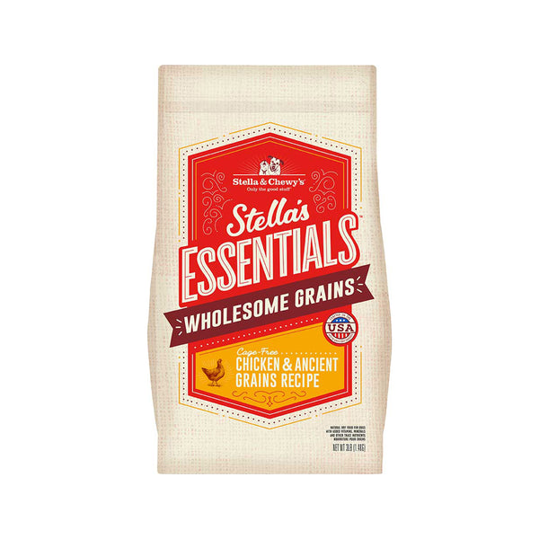Stella's Essentials Cage-Free Chicken & Ancient Grains, 25lb