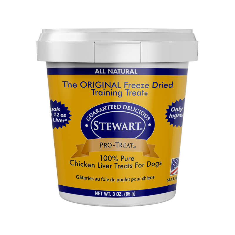 Freeze-Dried Chicken Liver Pro-Treat, 3oz