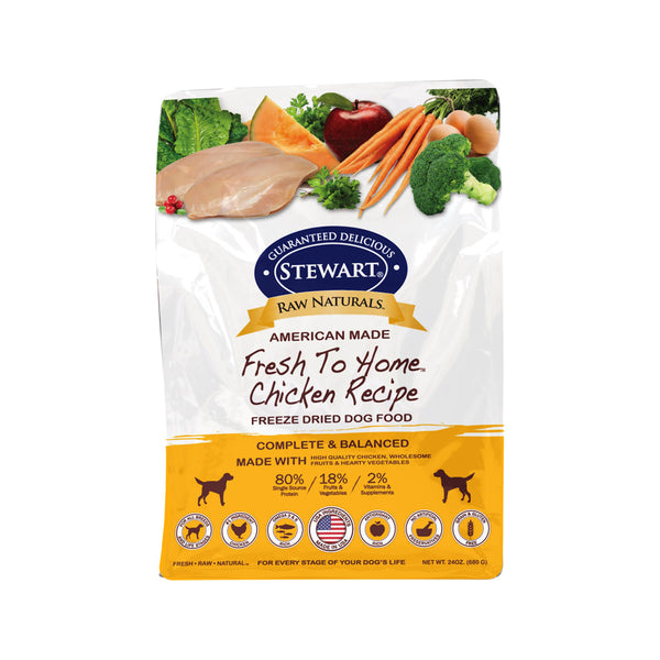 Freeze Dried Dog Food - Chicken, 24oz