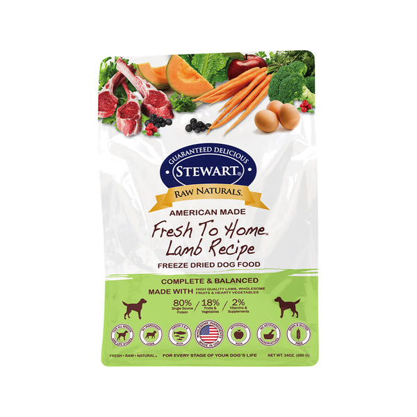 Freeze Dried Dog Food - Lamb, 24oz