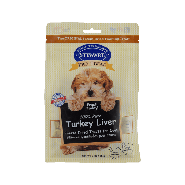 Freeze Dried Treat - 100% Pure Turkey Liver, 3oz