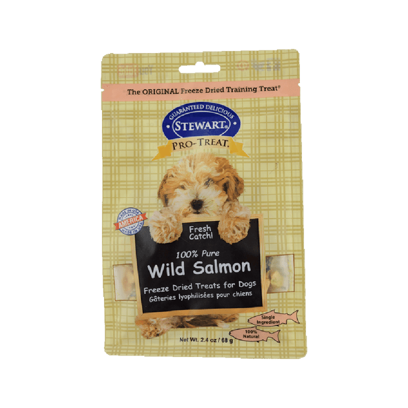 Freeze Dried Treat - 100% Pure Wild Salmon, 2.4oz