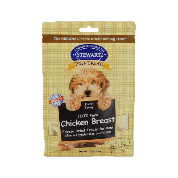 Freeze Dried Treat - 100% Pure Chicken Breast, 3oz