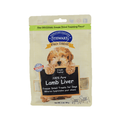 Freeze Dried Treat - 100% Pure Lamb Liver, 3oz