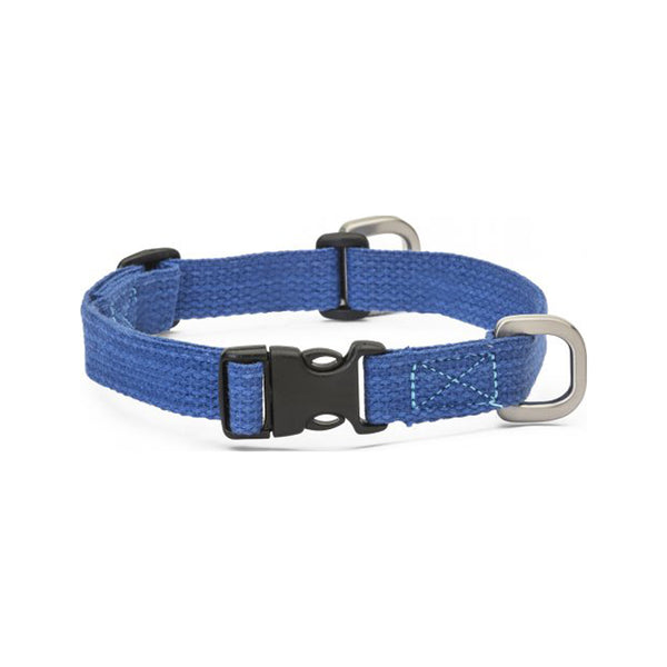 Strolls Collar w/ Hemp Color Midnight, Small