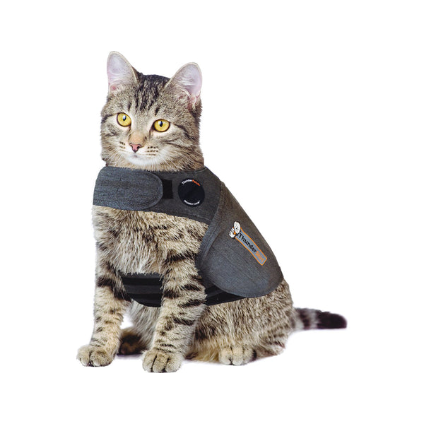 Thundershirt for Cats, Color Grey, Medium