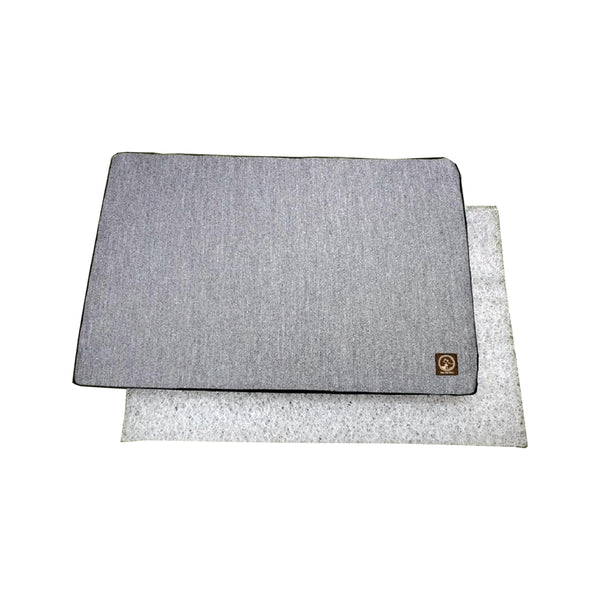 Travel Interlaced Mattress Color : Grey